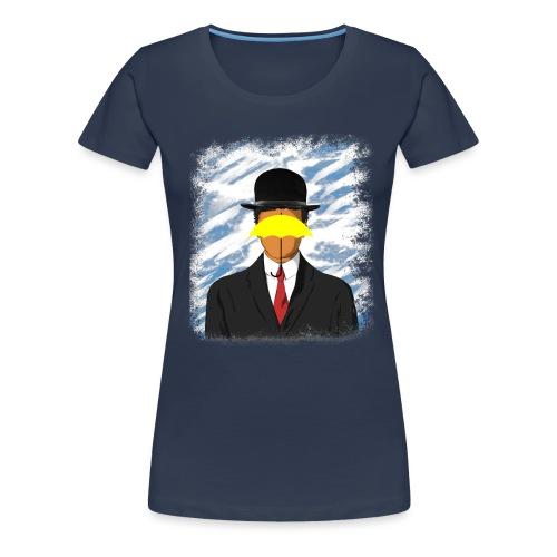 Son of Yellow Umbrella - Maglietta Premium da donna