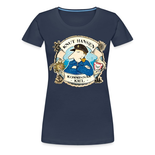 Knut Hansen Logo - Frauen Premium T-Shirt