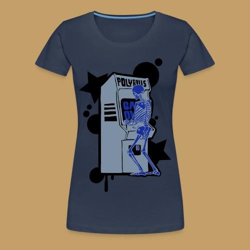 Hi-Score Silver X-ray - Koszulka damska Premium