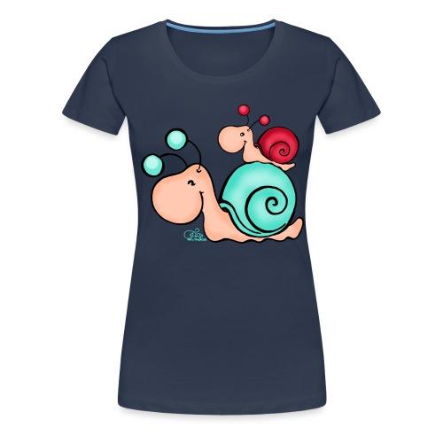Mami Schneck - Frauen Premium T-Shirt