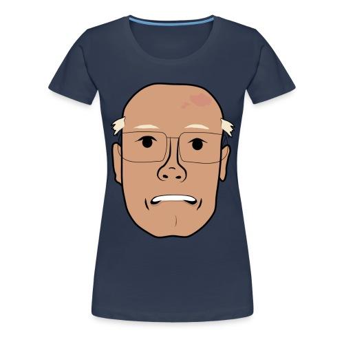 Åke orolig png - Premium-T-shirt dam