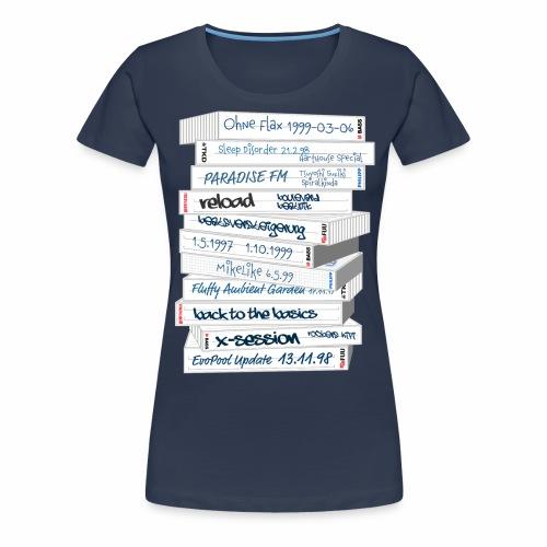 Evo Tapes - Frauen Premium T-Shirt