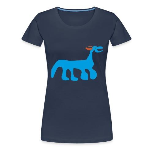 ITS A POODLE no text gif - Women's Premium T-Shirt