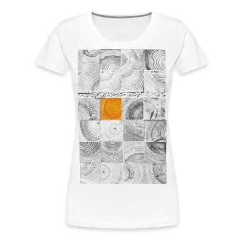 Cubes de Bois - T-shirt Premium Femme