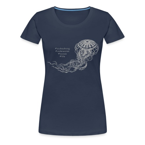 jellyfish2 - T-shirt Premium Femme