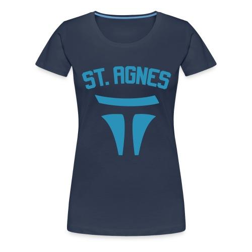 ST AGNES - Frauen Premium T-Shirt
