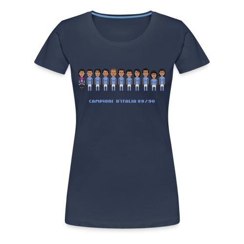 Italian Champions 89 90 - Women's Premium T-Shirt