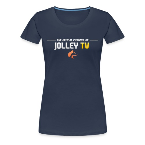 JolleyTV logo - Women's Premium T-Shirt