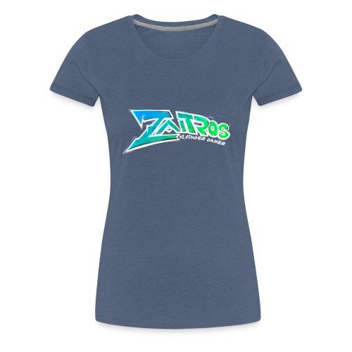 text white 2 png - Premium-T-shirt dam