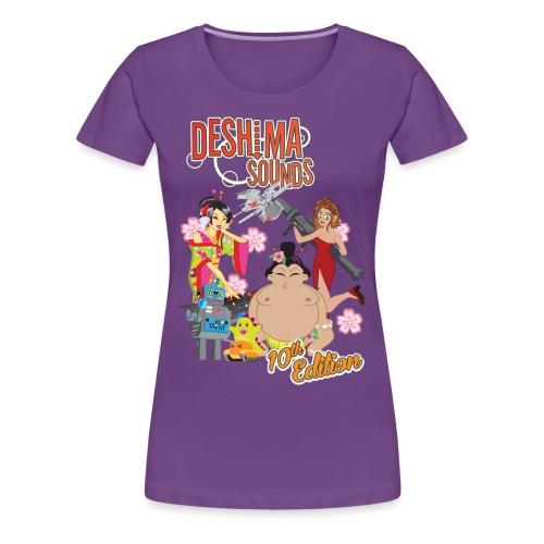 Deshima Sounds 10 2013 - Women's Premium T-Shirt