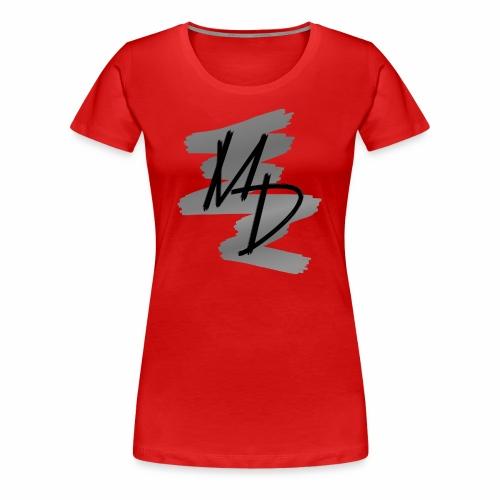 MD BRAND PNG b&w - Camiseta premium mujer