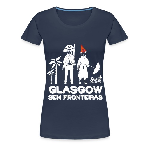 Glasgow Without Borders Brazil Pernambuco - Women's Premium T-Shirt