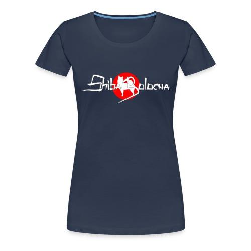 Shiba Bologna logo 2 png - Maglietta Premium da donna