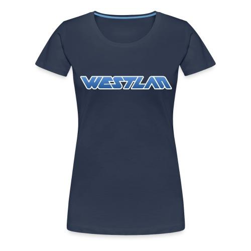 WestLAN Logo - Women's Premium T-Shirt