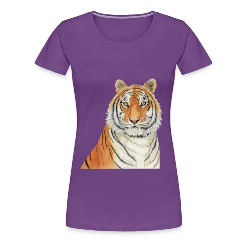 Tigre,Tiger,Wildlife,Natura,Felino - Maglietta Premium da donna
