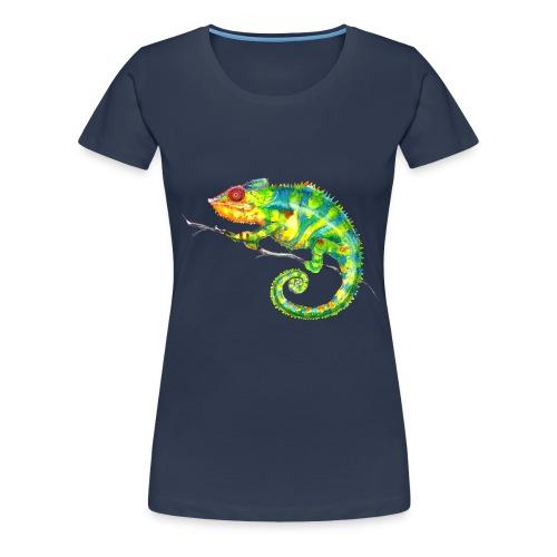 MIKO Chamäleon Chamaeleon Chameleon - Frauen Premium T-Shirt