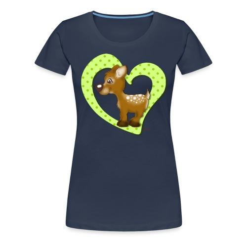 Kira Kitzi Limone - Frauen Premium T-Shirt