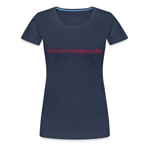 Schwarzwaldmaidle - T-Shirt - Frauen Premium T-Shirt