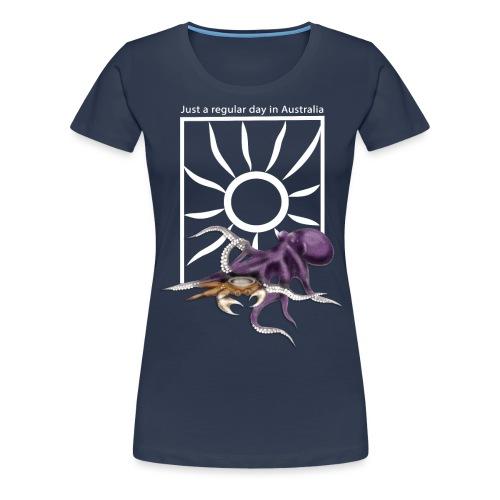 Octopus vs Crab - Women's Premium T-Shirt