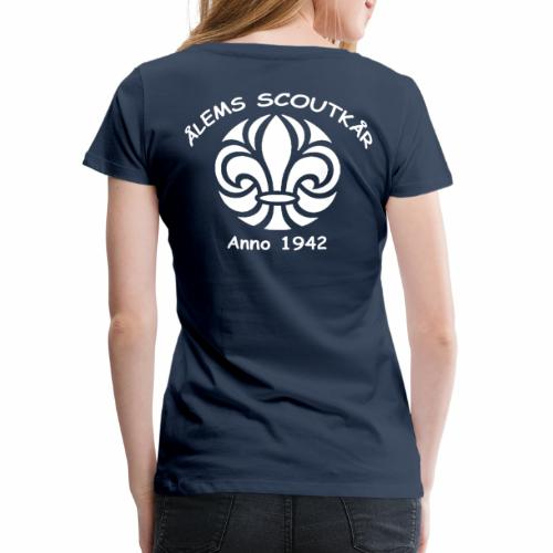 Ålem 4 png - Premium-T-shirt dam