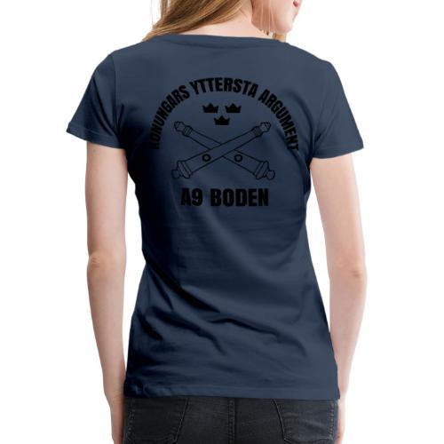 A9 - Premium-T-shirt dam