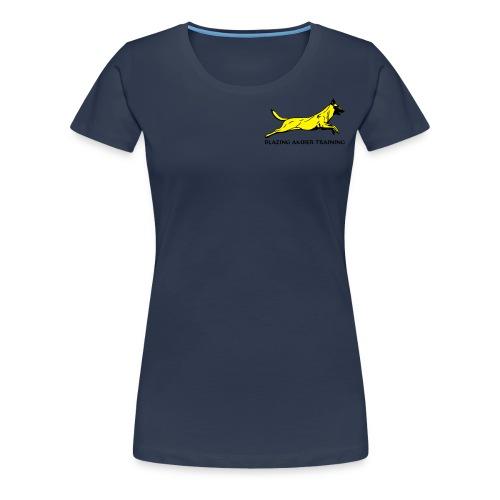 Hond Blazing Amber Training - Vrouwen Premium T-shirt