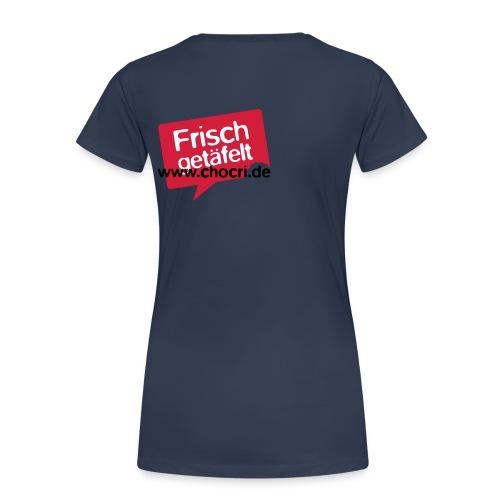 chocri frisch v1 - Frauen Premium T-Shirt