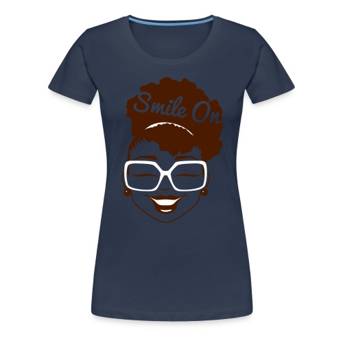 dnt cl1307a smileon women final - Women's Premium T-Shirt
