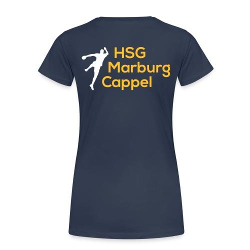 HSG weiß gelb - Frauen Premium T-Shirt