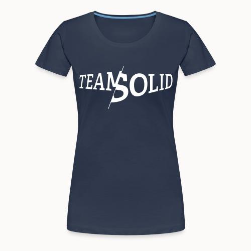 teamsolid_reduziert - Frauen Premium T-Shirt