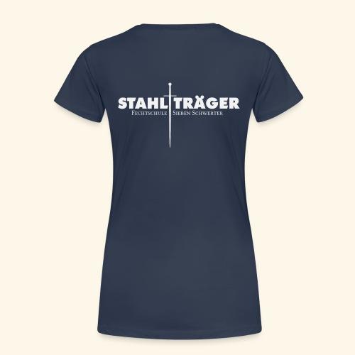 Stahlträger - Frauen Premium T-Shirt