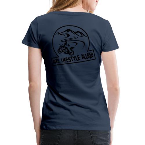 Logo - Schwarz - Frauen Premium T-Shirt