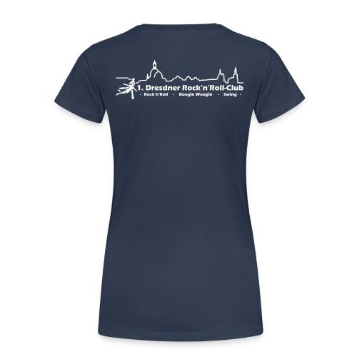 Logo Rock n Roll weiß - Frauen Premium T-Shirt