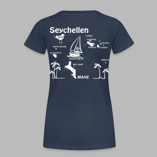 Seychellen Insel Crewshirt Mahe etc. - Frauen Premium T-Shirt