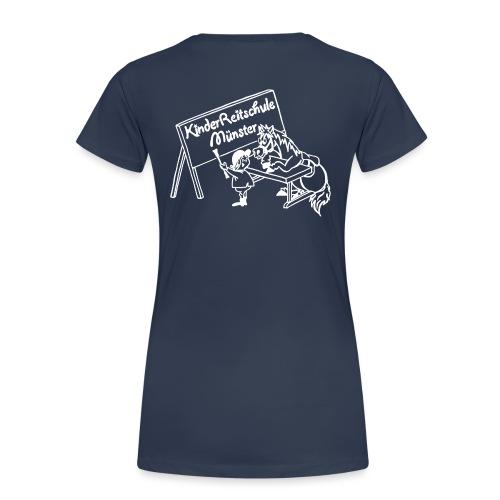 LogoWeiss - Frauen Premium T-Shirt