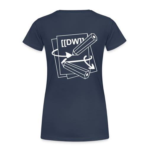 DokuWiki Logo mono - Women's Premium T-Shirt