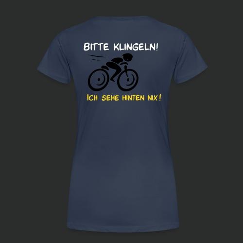 Radfahrer bitte klingeln! - Frauen Premium T-Shirt