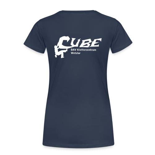 Cube Logo - Frauen Premium T-Shirt