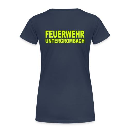 feuerwehr ugr - Frauen Premium T-Shirt