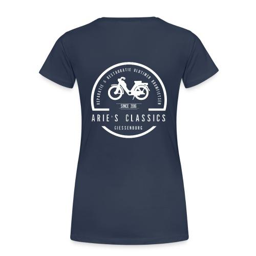 arie s classics logo - Vrouwen Premium T-shirt