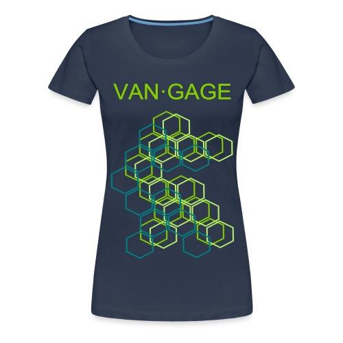 CUBESgreen - Frauen Premium T-Shirt