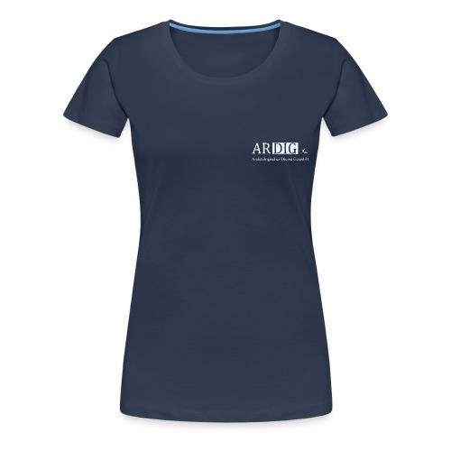 ARDIG Logo T Shirt png - Frauen Premium T-Shirt