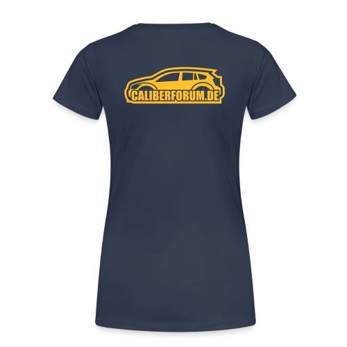 Helles Logo für dunkle Shirts - Frauen Premium T-Shirt