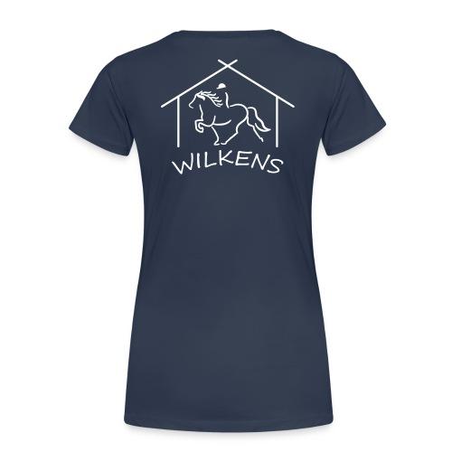 wilkens logo - Frauen Premium T-Shirt
