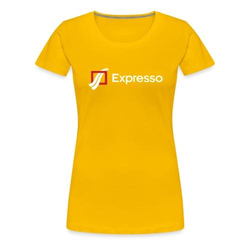 Expresso Logo - Women's Premium T-Shirt
