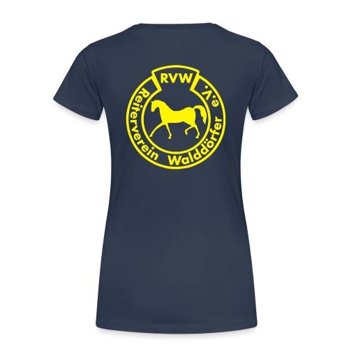 RVW Logo gelb - Frauen Premium T-Shirt