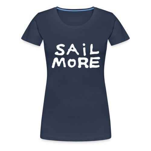 Sailmoreshirt Vorn - Frauen Premium T-Shirt