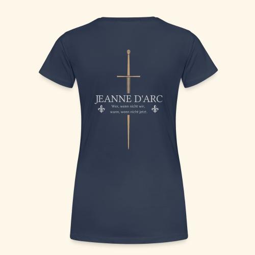 Jeanne d arc - Frauen Premium T-Shirt
