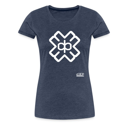 d3eplogowhite - Women's Premium T-Shirt
