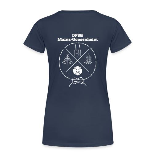 DPSG Gonsenheim Hipsterlogo Weiß - Frauen Premium T-Shirt